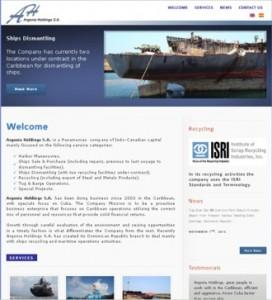 Argonia Holdings operaciones marítimas en el Caribe